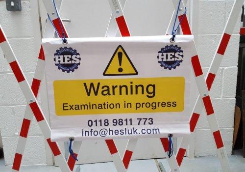 HESL Warning Barrier